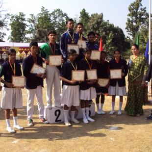 sports day rela winners